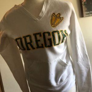 Oregon Ducks hooded sweatshirt